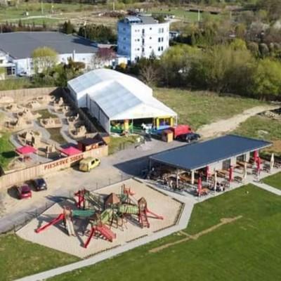Veľké detské ihrisko pri GUMILANDE v Bojniciach zadarmo