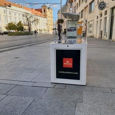 Smart lavička Bratislava